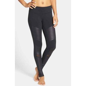 Alo Yoga Black Moto Leggings Sz XS